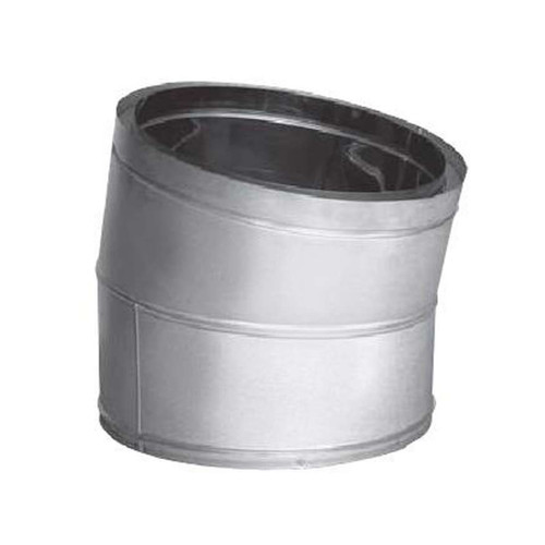 20'' DuraTech 15 Degree Stainless Steel Elbow - 20DT-E15SS