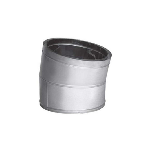 22'' DuraTech 15 Degree Stainless Steel Elbow - 22DT-E15SS