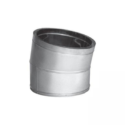 24'' DuraTech 15 Degree Stainless Steel Elbow - 24DT-E15SS