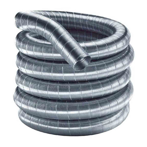3'' x 15' DuraFlexSS 304 Stainless Steel Chimney Liner - 3DF304-15