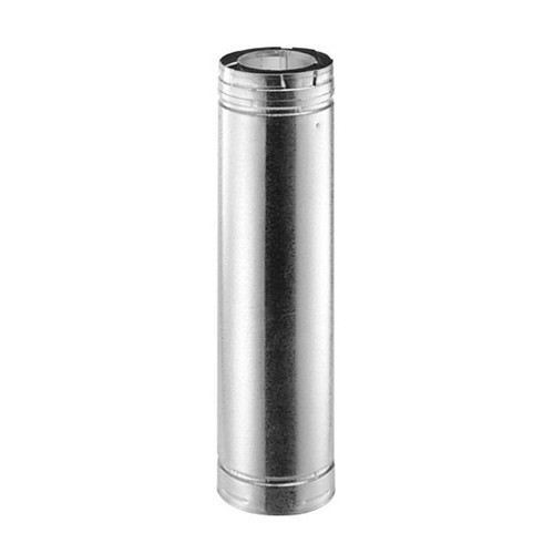 4'' x 6 5/8'' DirectVent Pro 9'' Galvanized Chimney Pipe