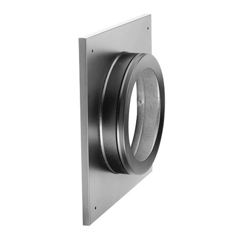 4'' x 6 5/8'' DirectVent Pro Ceiling Support/Wall Thimble Cover - 46DVA-DC