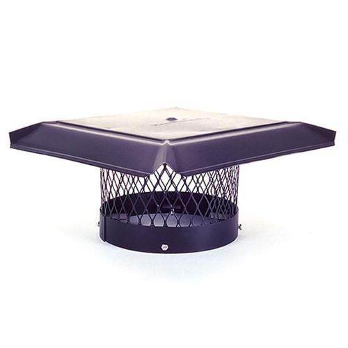 8'' Round Homesaver Pro Galvanized Chimney Cap
