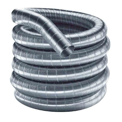 4'' x 25' DuraFlex 304 Stainless Steel Chimney Liner - 4DF304-25