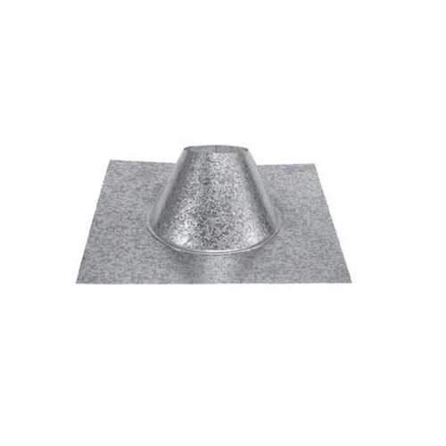 4'' PelletVent Pro 7/12 - 12/12 DSA Roof Flashing - 4PVP-F12DS