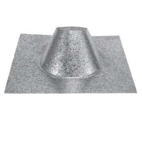 4'' PelletVent Pro 0/12 - 6/12 Adjustable Roof Flashing - 4PVP-F6