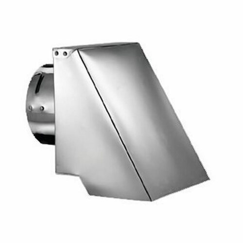 4'' PelletVent Pro Square Horizontal Termination Cap - 4PVP-HSC
