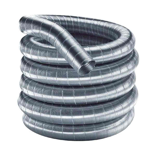 5 1/2'' x 25' DuraFlex 304 Stainless Steel Chimney Liner - 55DF304-25