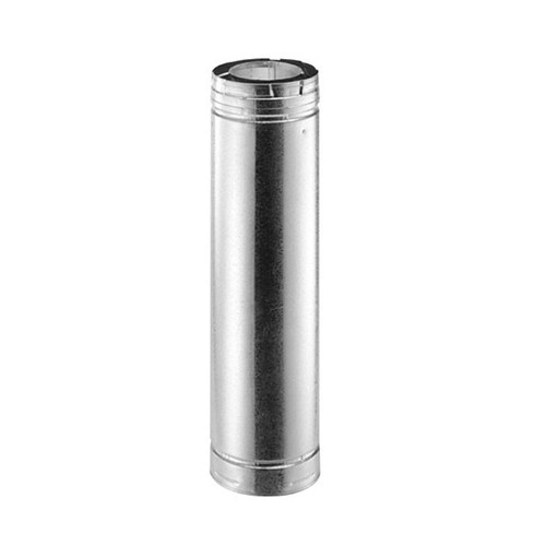 5'' x 8'' DirectVent Pro 12'' Galvanized Chimney Pipe