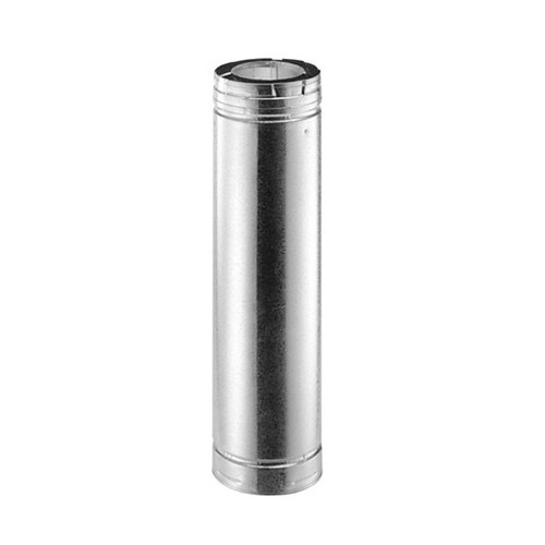5'' x 8'' DirectVent Pro 48'' Galvanized Chimney Pipe