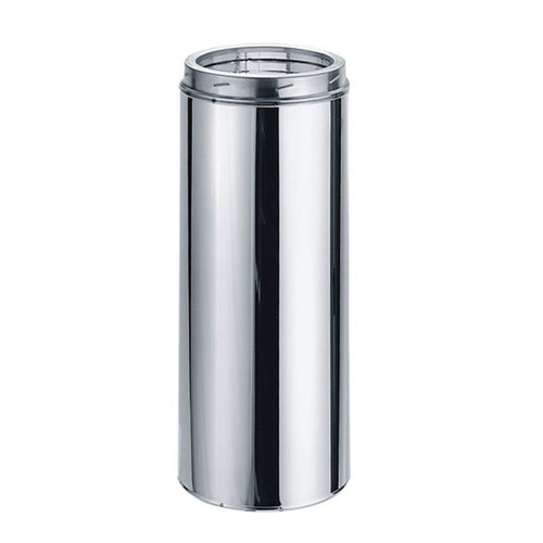 5'' x 24'' DuraTech Stainless Steel Chimney Pipe - 5DT-24SS