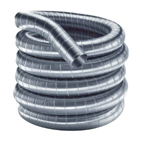 6'' x 35' DuraFlexSS 304 Stainless Steel Chimney Liner - 6DF304-35