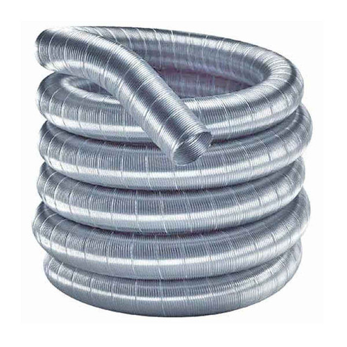 6'' x 15' DuraFlexSS 316 Stainless Steel Chimney Liner - 6DF316-15