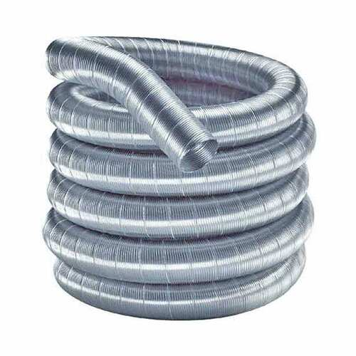 6'' x 30' DuraFlexSS 316 Stainless Steel Chimney Liner - 6DF316-30