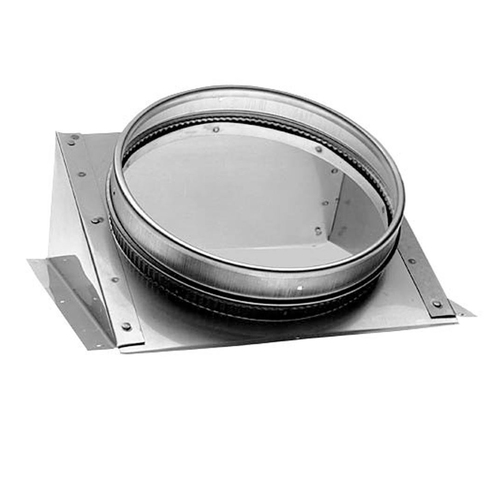 6'' DuraLiner 30 Degree Round-to-Oval Connector - 6DLR-CNRO