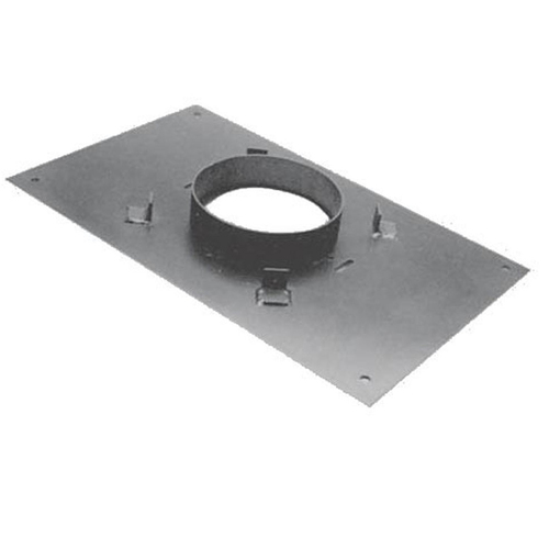 6'' DuraPlus 14'' x 17''  Transition Anchor Plate - 6DP-AP14X17