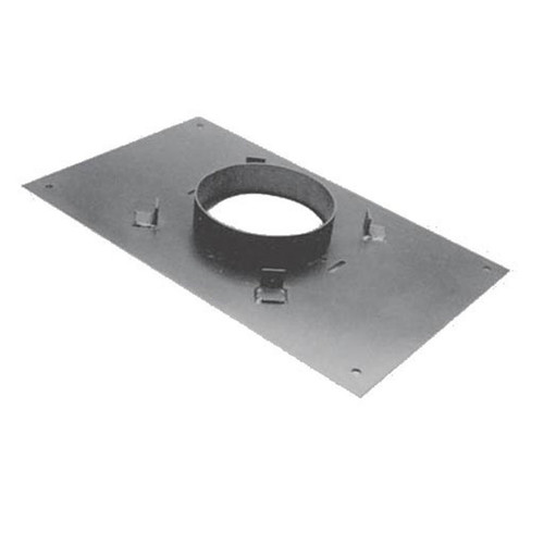 6'' DuraPlus 17'' x 17''  Transition Anchor Plate - 6DP-AP17X17