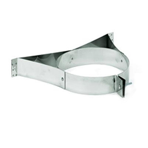 6'' DuraPlus Stainless Steel Wall Strap - 6DP-WSSS
