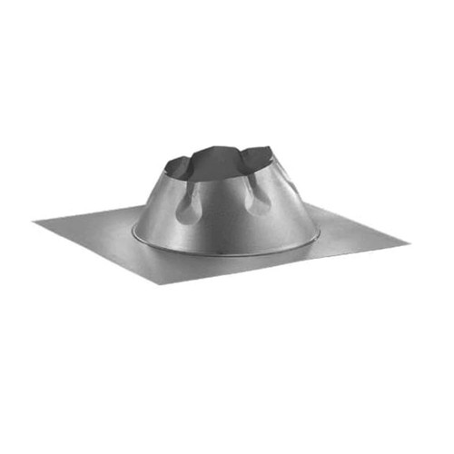 6'' DuraTech 7/12 - 12/12 Metal Roof Flashing - 6DT-F12DSA