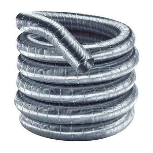 7'' x 15' DuraFlex 304 Stainless Steel Chimney Liner - 7DF304-15
