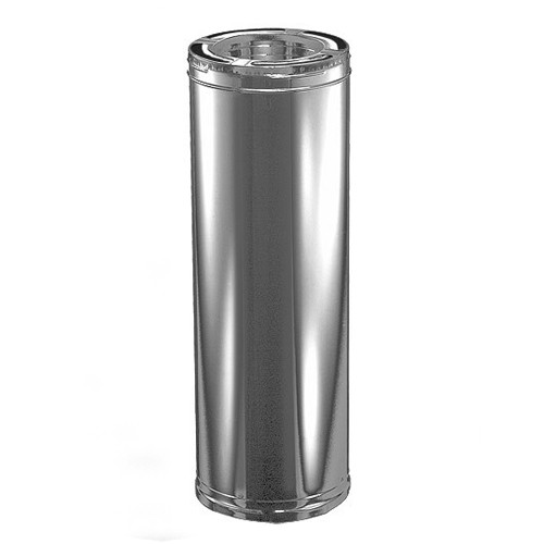 8'' x 24'' DuraPlus Stainless Steel Chimney Pipe