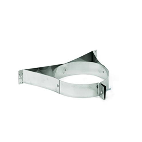 8'' DuraPlus Stainless Steel Wall Strap - 8DP-WSSS