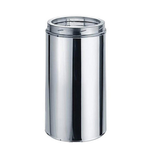 8'' x 18'' DuraTech Stainless Steel Chimney Pipe - 8DT-18SS