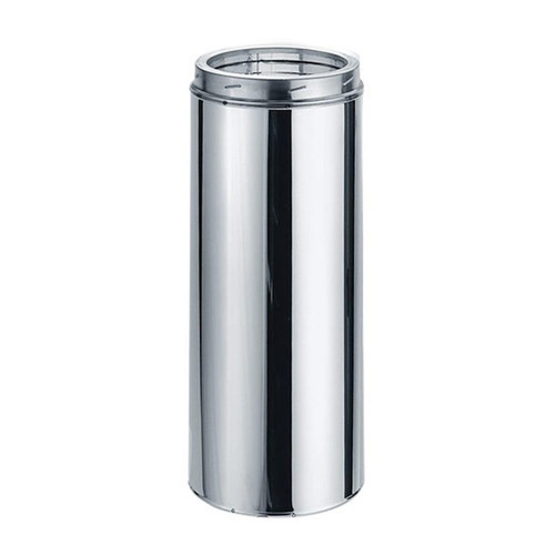 8'' x 24'' DuraTech Stainless Steel Chimney Pipe - 8DT-24SS