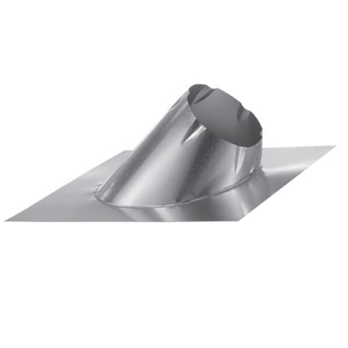 8'' DuraTech 7/12 - 12/12 Large Base Adjustable Roof Flashing - 8DT-F12L