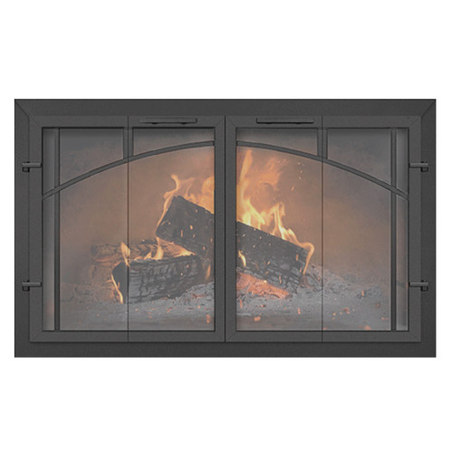 Normandy Supreme Custom Masonry Fireplace Door