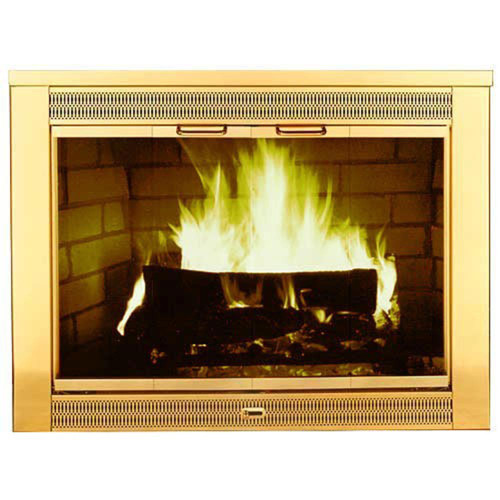 Regal Stock Masonry Fireplace Door