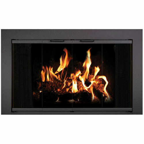 Reserve Stock Masonry Fireplace Door