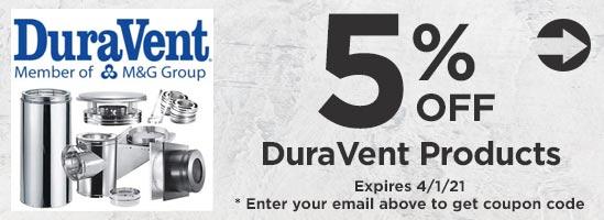 5% Off DuraVent