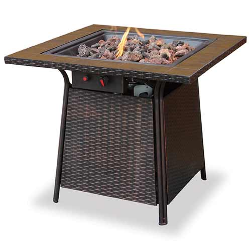 propane gas outdoor fire pit