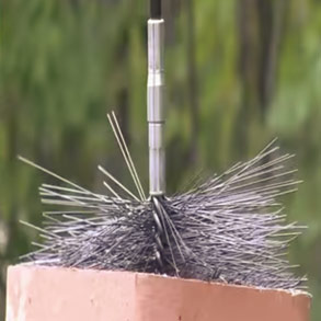 Chimney Cleaning Brushes and Accessories
