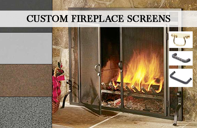 Custom Fireplace Fireplace Screens