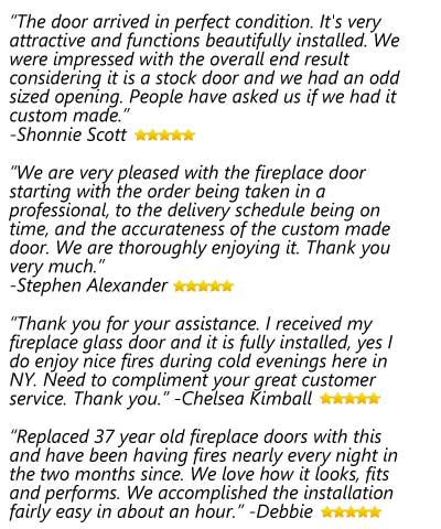 Fireplace Door Reviews