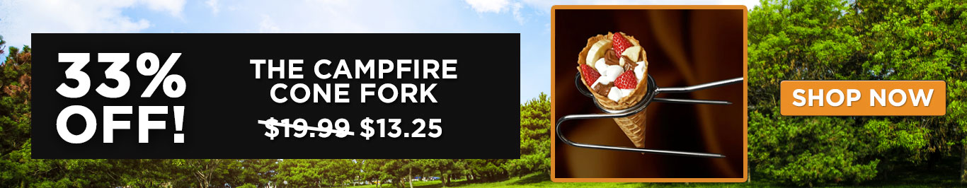 33% Off The Campfire Cone Fork
