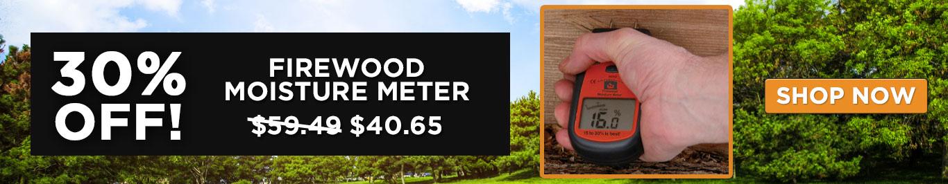 30% Off Firewood Moisture Meter