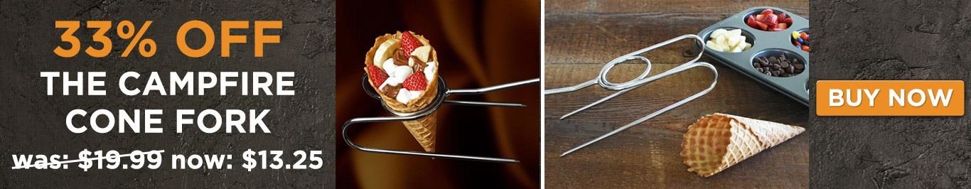33% off The Campfire Cone Fork - Now Only $13.25