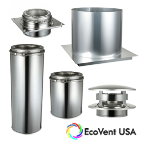 EcoVent Chimney Pipee