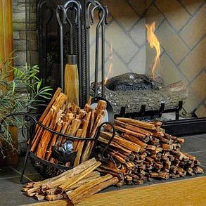 Fatwood Fire Starters & Holders