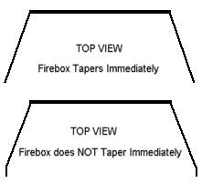 Firebox Taper