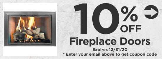10% Off Fireplace Doors