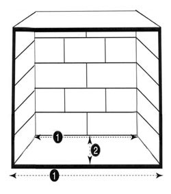 Fireplace Grate measurements