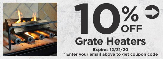 10% Off Grate Heaters