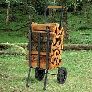 Rolling Firewood Carts