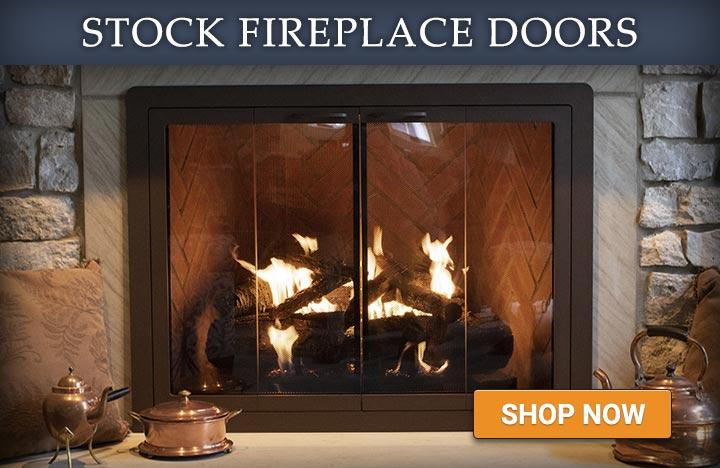 Stock Fireplace Doors