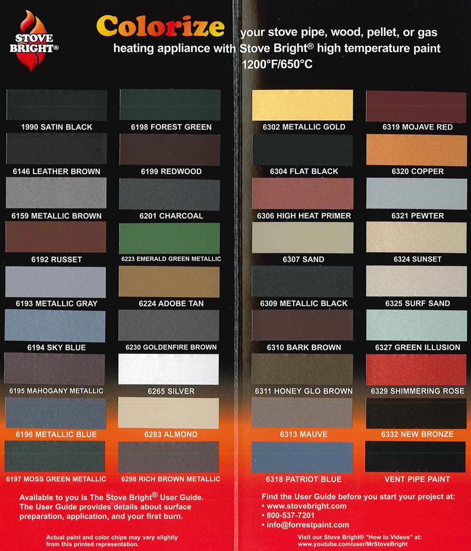 Stove Bright Paint Colors
