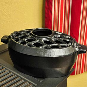 Wood Stove Steamers